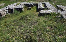 Ruïnes de la Capella Paleocristiana de Santa Cristina d'Aro